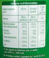 Lemon Lime Saveur citron & citron vert - Informations nutritionnelles - fr