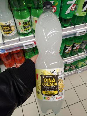 Boisson pétillante saveur piña colada sans alcool - 4