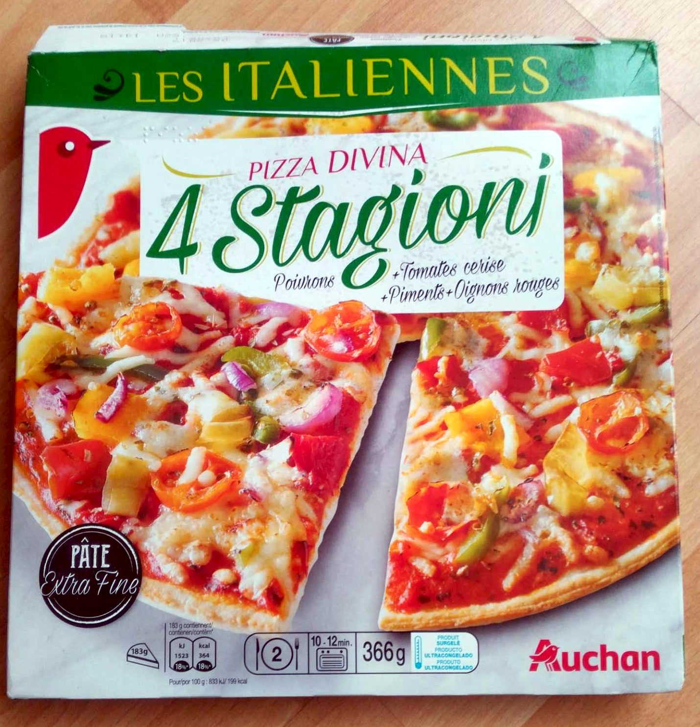 Pizza divina 4 stagioni - Product