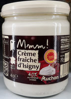 Creme fraiche epaisse d'isigny 40%mg aop 40cl mmm - Product - fr