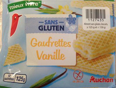 Gaufrettes vanille sans gluten - Product