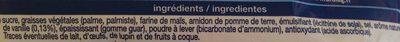Gaufrettes vanille sans gluten - Ingrediënten