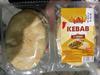 Pains kebab à garnir - Produit