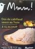 Dos de cabillaud, sauce au yuzu & riz au pavot - Product