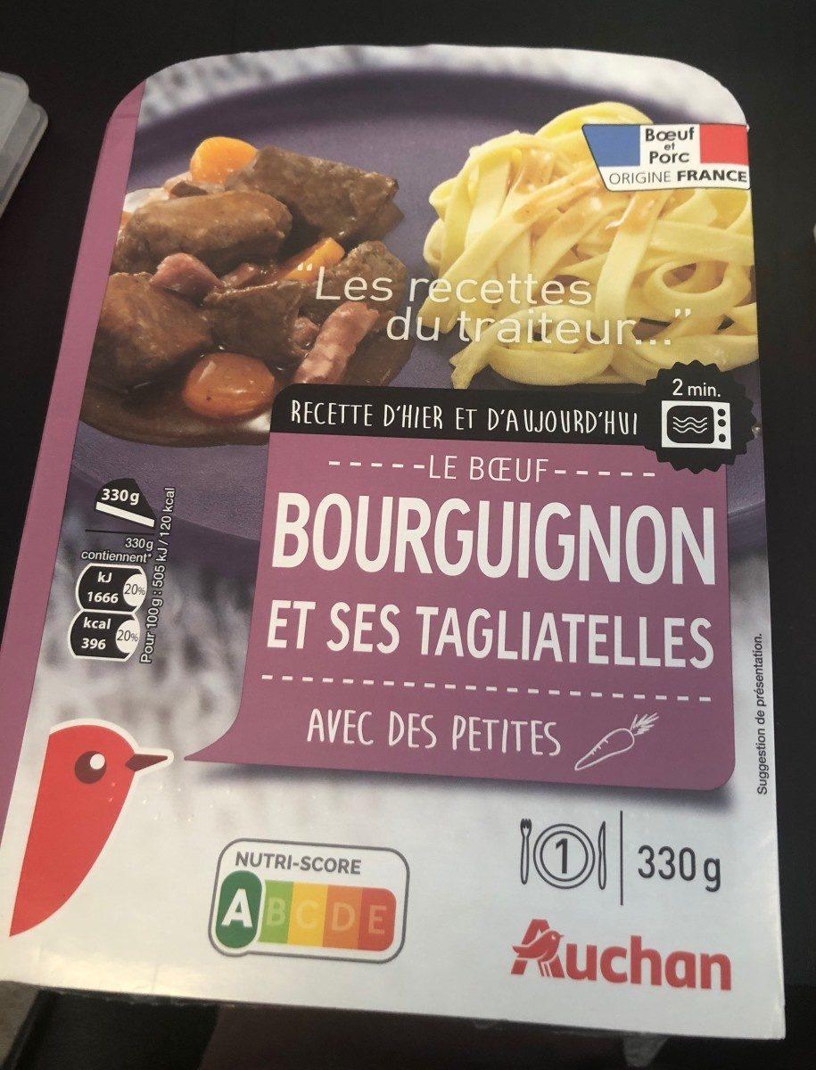 Bœuf bourguignon & ses tagliatelles - Product - fr