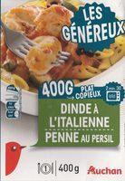 Dinde à l'Italienne, Penne au Persil - Produit - fr