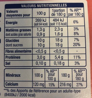 Yaourt à boire fraise framboise vanille - 4