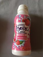 Yaourt a boire fraise framboise vanille - Product