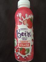 Yaourt a boire fraise rik&rok - Product