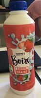 Yaourt a boire saveur fraise - Product