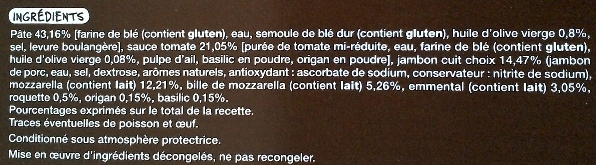 Pizza Classico - Ingredienti - fr