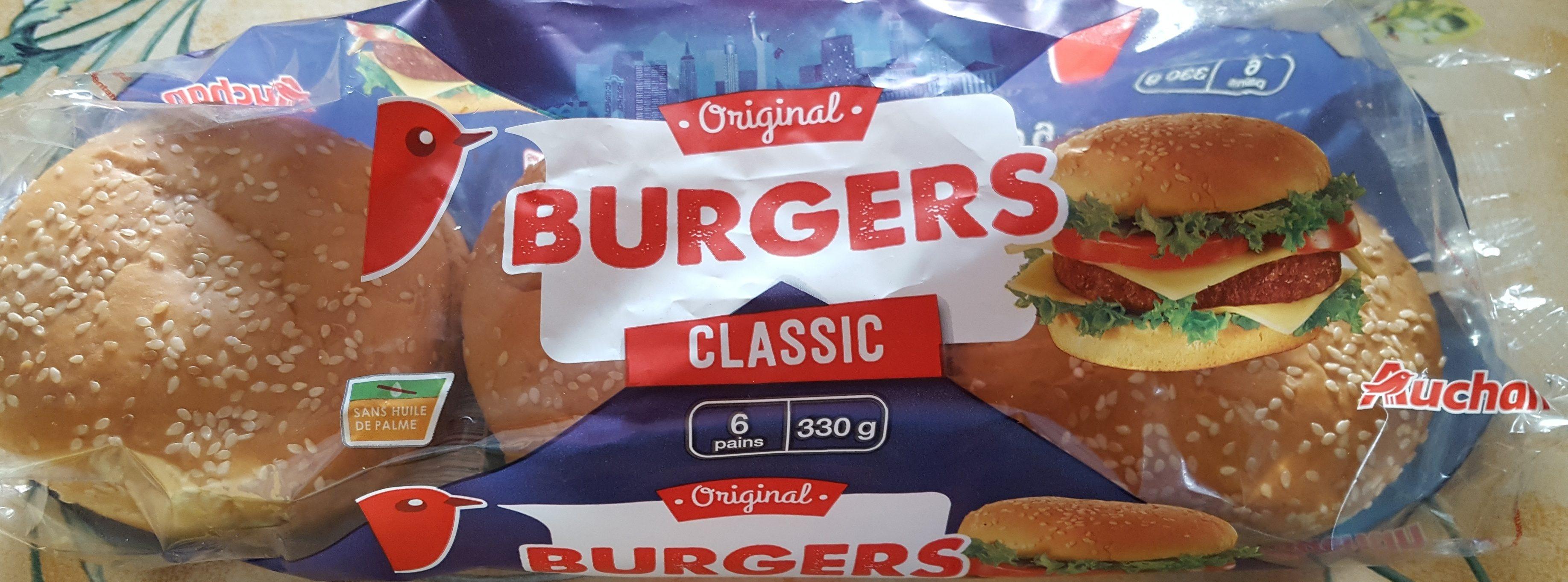 Pain Burger - Product - fr