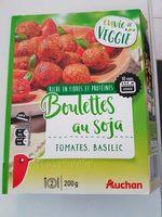 Boulettes au Soja - Tomates, Basilic - Product - fr