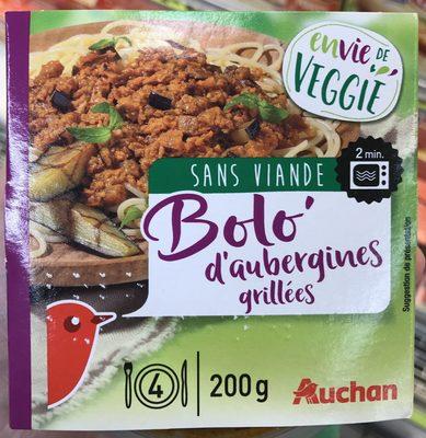 Bolo' D'aubergines Grillées - Product - fr