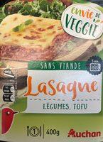 Lasagne Légumes, Tofu - Product - fr