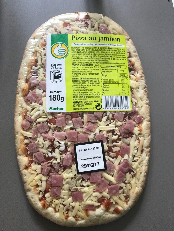 Pizza au jambon - Product - fr