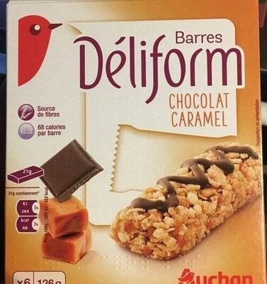 Barres Déliform Chocolat Caramel - Product - fr