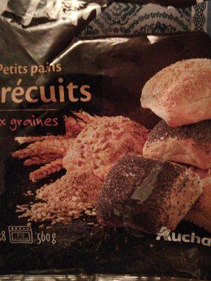 Petits Pains précuits aux graines - Product - fr