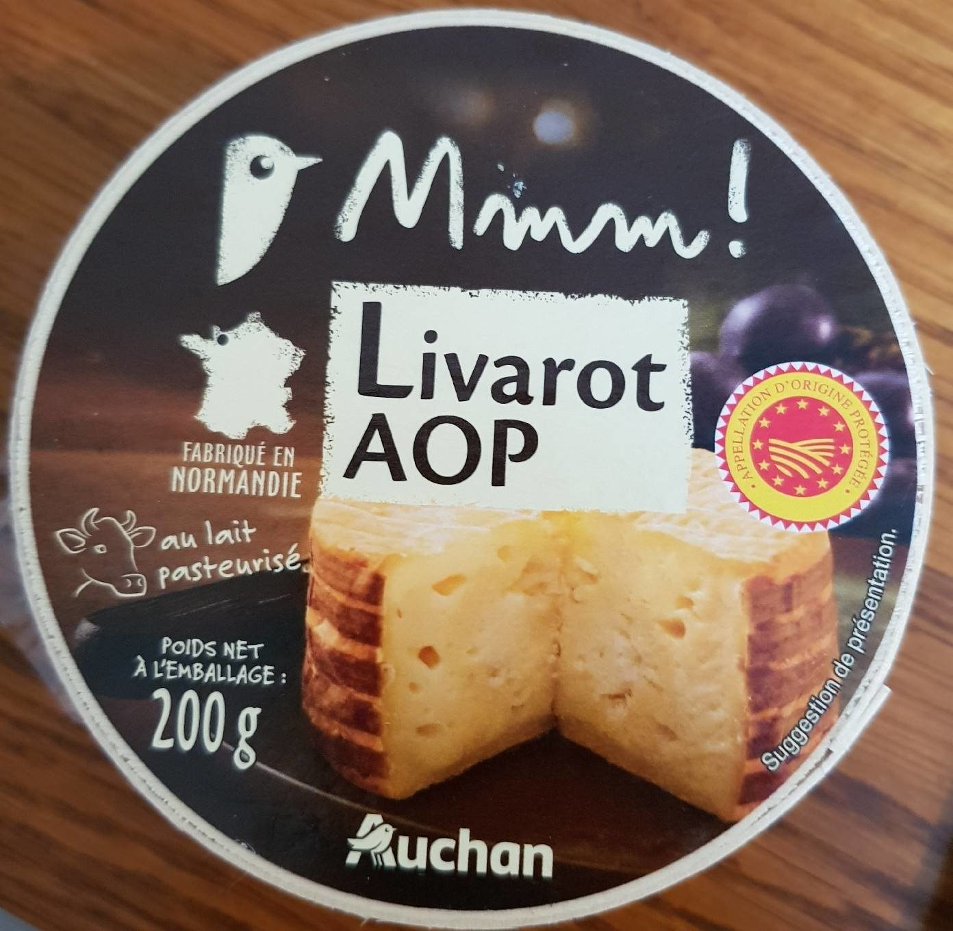 Livarot AOP - Produkt - fr