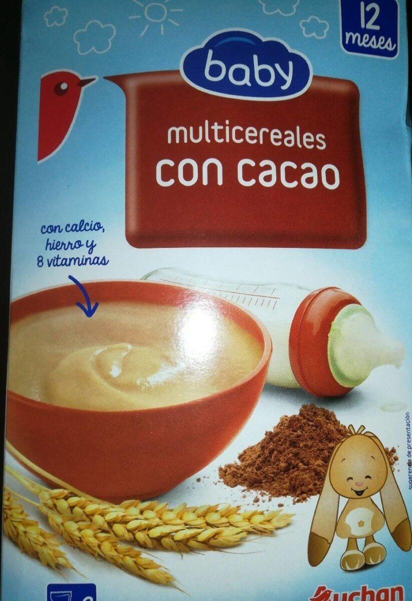 Baby multicereales con cacao - Prodotto - es