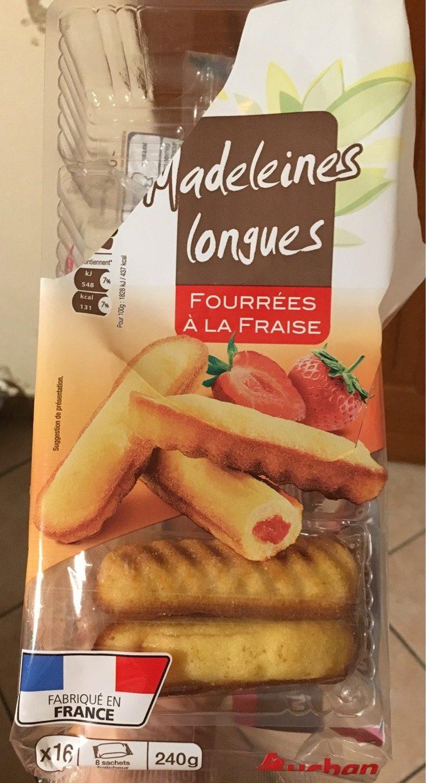 Madeleine fourée fraise - Product - fr