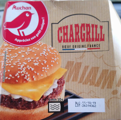 Chargrill Burger - Product
