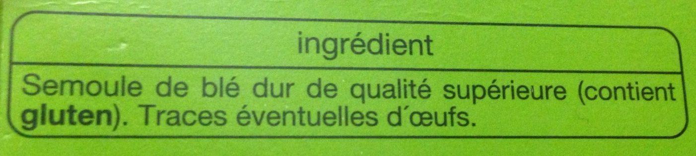 Lasagnes - Ingrediënten - fr