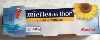 Miettes de thon a l'huile de tournesol - Prodotto - fr