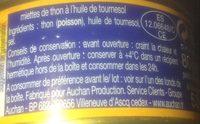 Miettes de thon a l'huile de tournesol - Ingredienti - fr