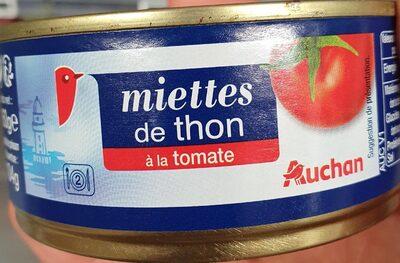 Miettes de thon à la tomate - Prodotto - fr