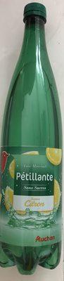 Eau Pétillante saveur Citron - Produit - fr