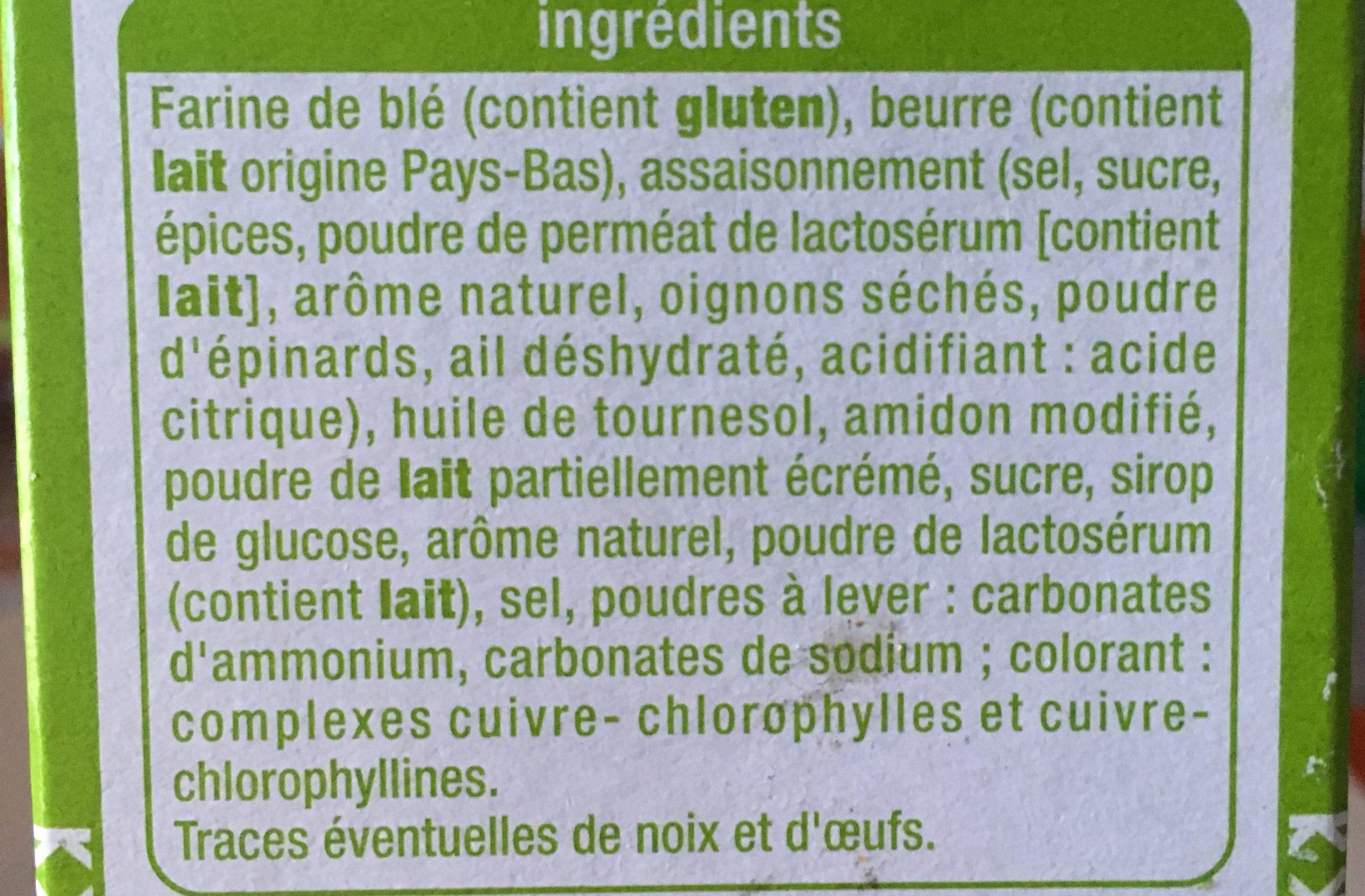 apéritif - Ingrédients - fr