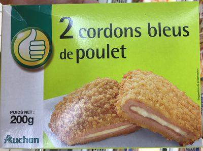 2 Cordons bleus de poulet - Produit
