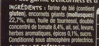 Tielles sétoises - Ingrediënten