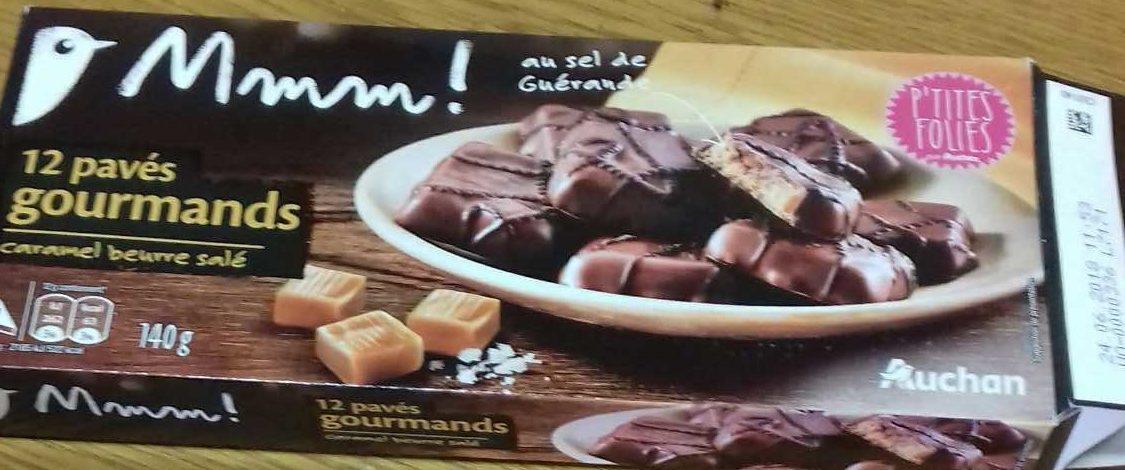 Pavés gourmands caramel beurre salé Mmm - Produit - fr