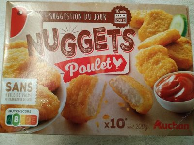 Nuggets poulet - Product - fr