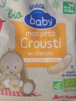 Mon petit crousti au cheddar - Produit - fr