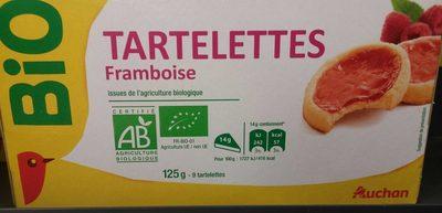 Tartelettes framboise bio - Produit - fr
