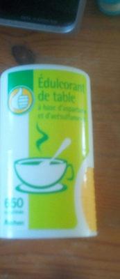 Édulcorants de table - Informations nutritionnelles
