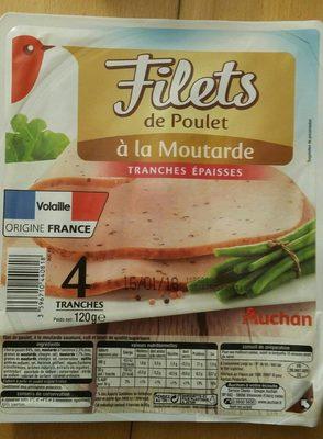 Filets de poulet à la moutarde - Product - fr