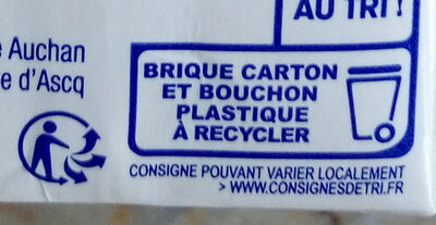 Préparation Soja cuisine - Recycling instructions and/or packaging information - fr