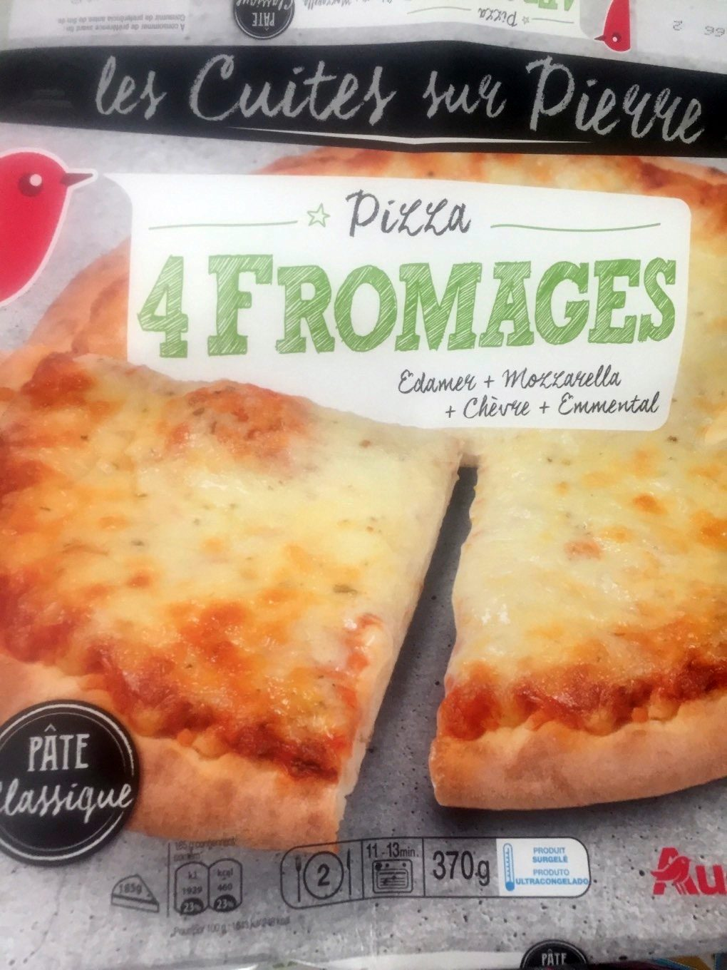 Pizza 4 fromages - Product - fr