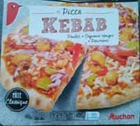 Pizza kebab Les cuites sur pierre - Produit - fr