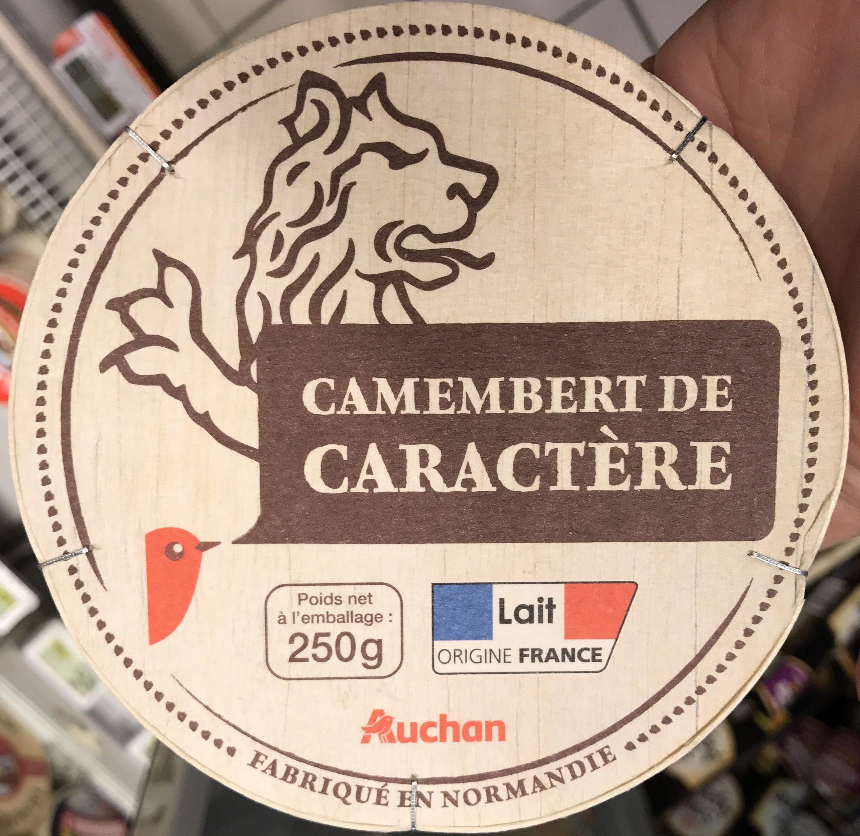 Camembert de caractère - Produit - fr