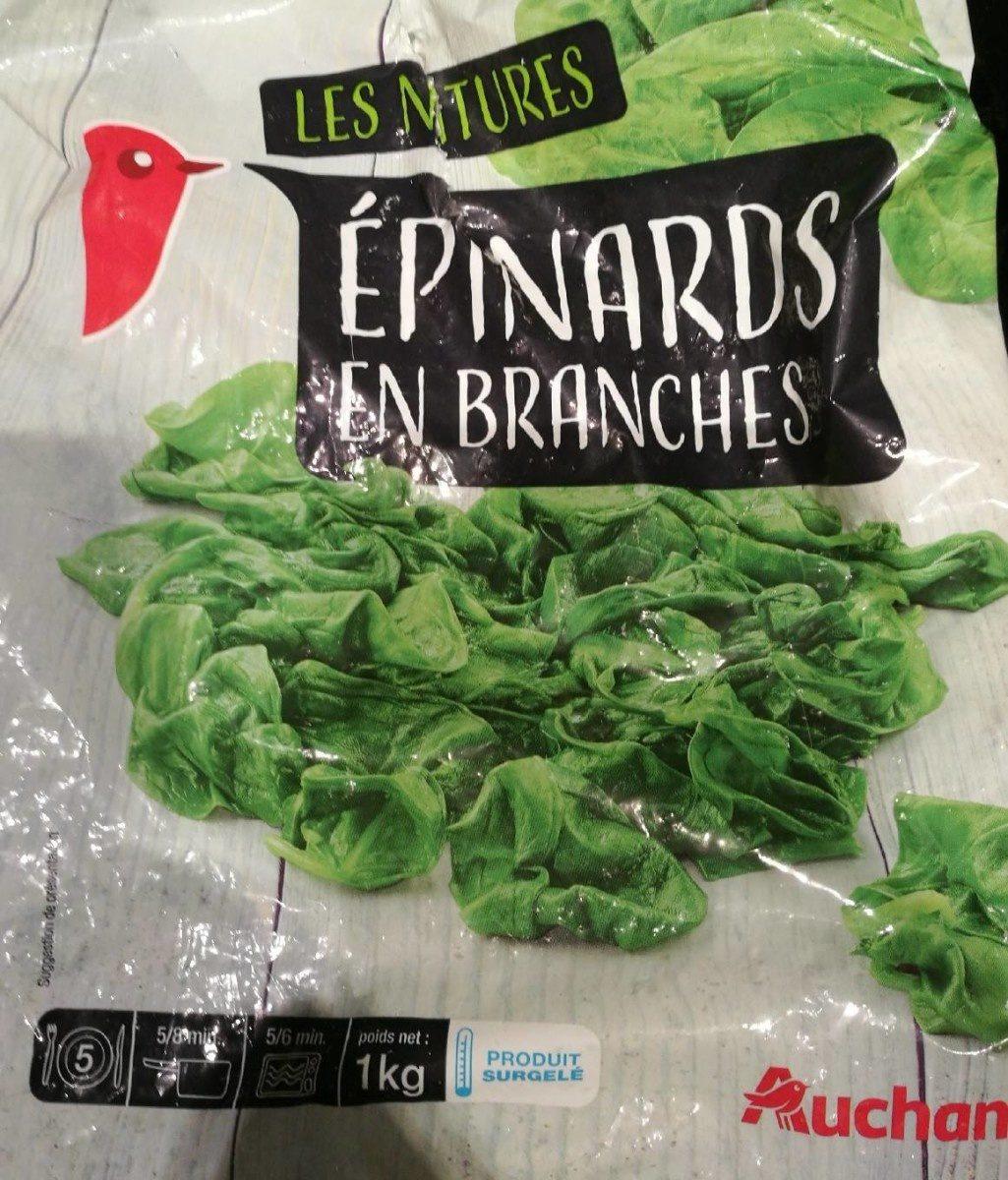 Les natures épinards en branches - Product - fr