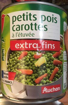 Petits pois carottes à l'étuvée, extra fins - Produit - fr