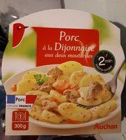 Porc à la dijonnaise aux deux moutardes - Produit - fr