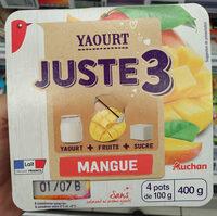 Juste 3 mangue - Produit