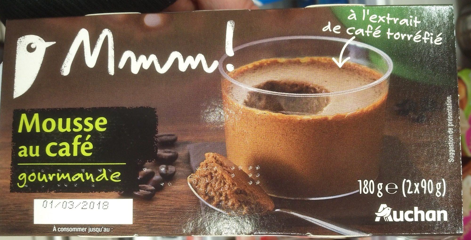 Mousse au café gourmande - Produit