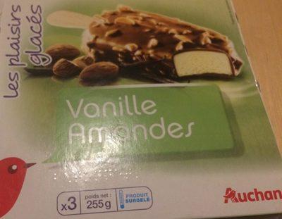 Les Plaisirs Glacés Bâtonnets Vanille Amandes - Product